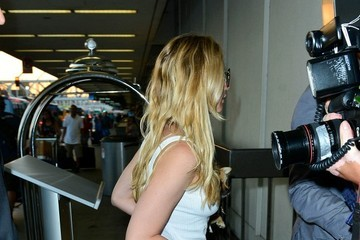 Jennifer Lawrence Jennifer Lawrence Seen at LAX