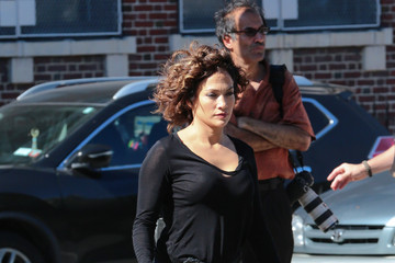 Jennifer Lopez Jennifer Lopez Films 'Shades of Blue' in NYC