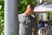 Jeremy Meeks out and about