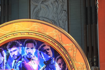 Jeremy Renner Mark Ruffalo Marvel Studios' 'Avengers: Endgame' Cast Place Their Hand Prints In Cement At TCL Chinese Theatre IMAX Forecourt