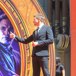 Jeremy Renner Marvel Studios' 'Avengers: Endgame' Cast Place Their Hand Prints In Cement At TCL Chinese Theatre IMAX Forecourt