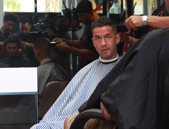 Mike Sorrentino Pictures Jersey Shore Guys Get Haircuts -
