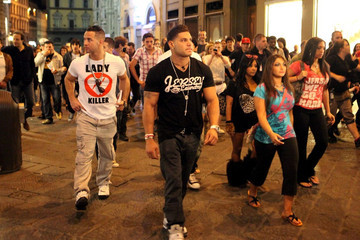 Sammi Giancola  Ronnie Ortiz-Magro 'Jersey Shore' in Florence
