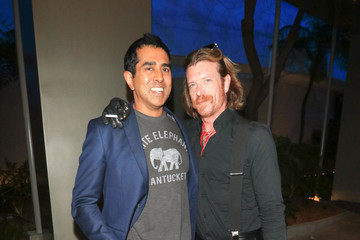 Jesse Hughes Jay Chandrasekhar Attends The 'Super Troopers 2' Premiere