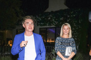 Jesse McCartney Is Seen At Craig's Restaurant In West Hollywood