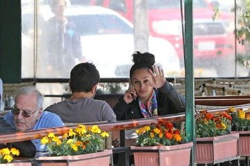 Jesse Metcalfe Cara Santana and Jesse Metcalf Do Lunch