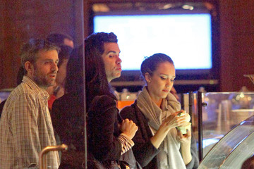 Alec Sulkin Jessica Alba and Cash Warren Go to Dinner with Sarah Silverman and Alec Sulkin