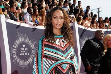 Joan Smalls Arrivals at the MTV Video Music Awards