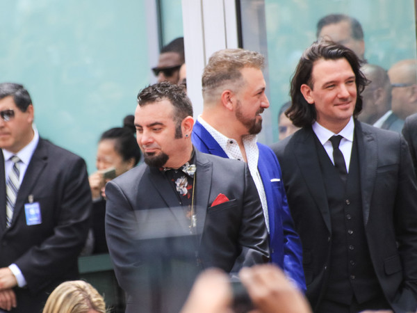 NSYNC Honored With Star On The Hollywood Walk Of Fame []