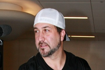 Joey Fatone Joey Fatone Arrives at LAX