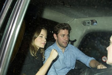 John Krasinski Emily Blunt and John Krasinski at Chiltern Firehouse — Part 2