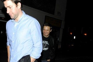 John Krasinski Celebrities at Chiltern Firehouse