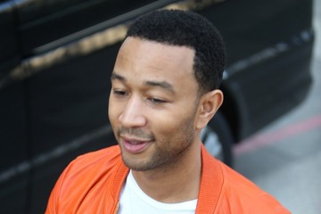 John Legend John Legend Arrives at the London Studios
