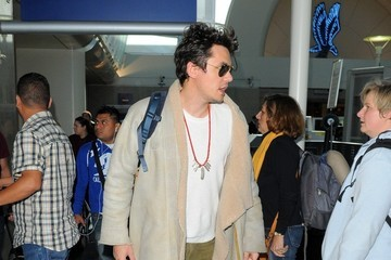 John Mayer John Mayer at LAX