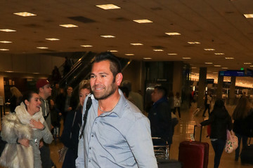 Johnny Damon Johnny Damon Is Seen at Salt Lake City Airport