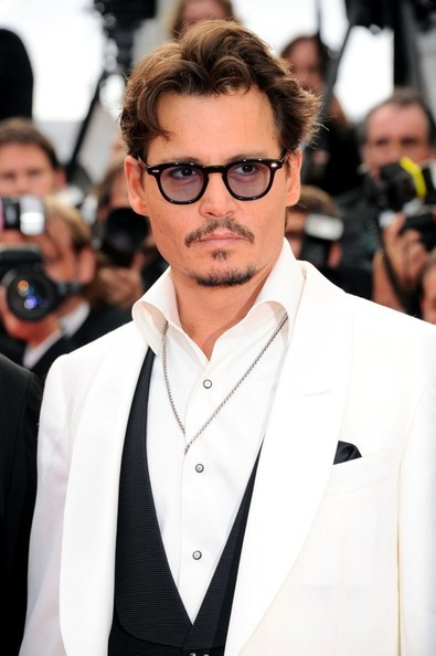Johnny Depp 'Pirates of the Caribbean: On Stranger Tides' premiere at the Palais des Festivals during the 64th Cannes Film Festival.