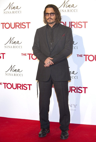 Johnny Depp 'The Tourist' premiere at Palacio de los Deportes .