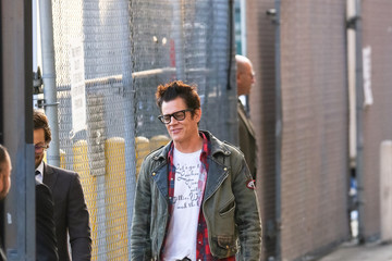 Johnny Knoxville Johnny Knoxville At 'Jimmy Kimmel Live'