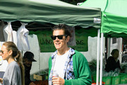 Johnny Knoxville At Farmers Market in Studio City
