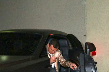 Johnny Manziel Johnny Manziel Outside Delilah Nightclub in West Hollywood
