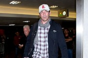 Jon Hamm is seen at LAX