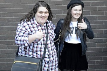 Jonathan Antoine Charlotte Jaconelli and Jonathan Antoine in London