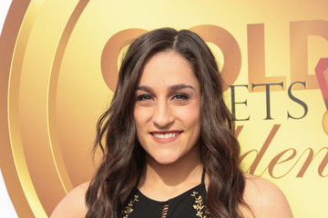 Jordyn Wieber GOLD MEETS GOLDEN: The 5th Anniversary Refreshed by Coca-Cola, Globes Weekend Gets Sporty with Athletic Royalty
