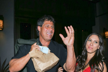 Jose Canseco Jose Canseco and Leila Knight Emjoy Valentines Dinner at Delta Terra