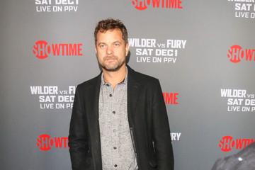Joshua Jackson Tyson Fury At 'Fury vs. Wilder' Fight At The Staples Center