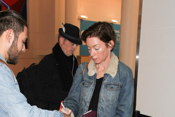 Julianne Nicholson Julianne Nicholson Is Seen at LAX