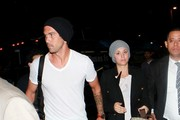 Kaley Cuoco and Ryan Sweeting at LAX