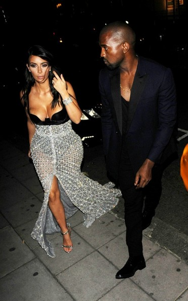 kanye and kim kardashian dating