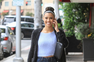 Kara Royster Kara Royster Is All Smiles in Beverly Hills