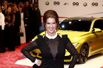 Katarina Witt Arrivals at the GQ Men of the Year Awards