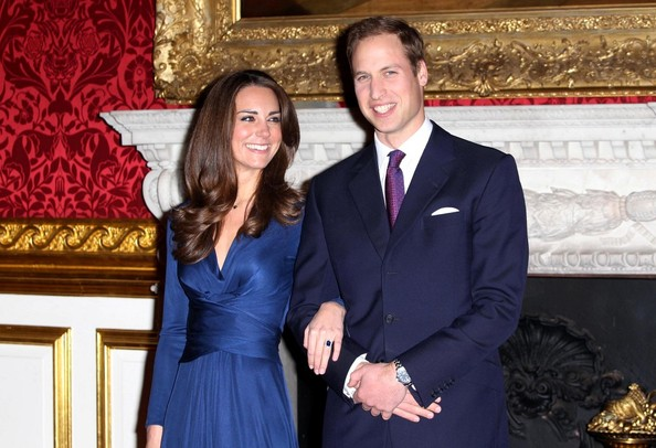 prince william and kate middleton at st. Prince William and Kate