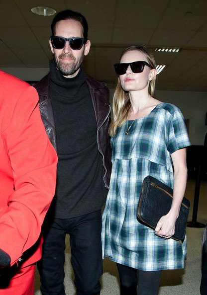 Kate Bosworth - Kate Bosworth and Michael Polish Land in LA