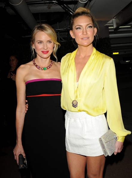 Kate Hudson Arrivals at the BVLGARI 'Decades of Glamour' Oscar Party at the Soho House in West Hollywood.
