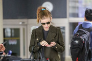 Kate Mara is seen in Los Angeles, California on March 6, 2019.