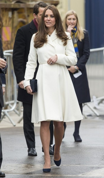 Kate Middleton - Duchess Kate Visits Portsmouth