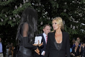 Kate Moss Naomi Campbell Celebs at the Serepentine Gallery Summer Party