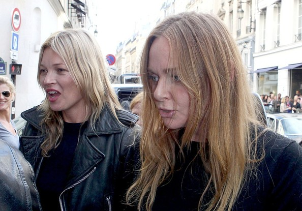 Kate Moss and Stella McCartney out in Paris []