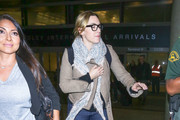 Kate Winslet is seen at Los Angeles International Airport in Los Angeles, California on Dec. 2, 2017.