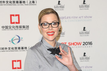 Kathleen Robertson LA Art Show And Los Angeles Fine Art Show's 2016 Opening Night Premiere Party