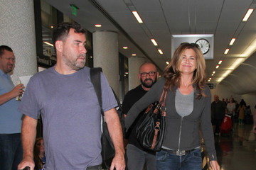 Kathy Ireland Kathy Ireland Is Seen at LAX