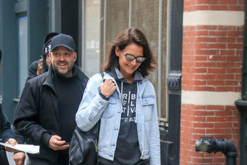 Katie Holmes Katie Holmes Goes Out in NYC