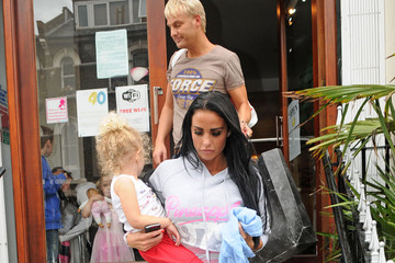 Princess Tiaamii Andre Katie Price Leaves a Dance Studio