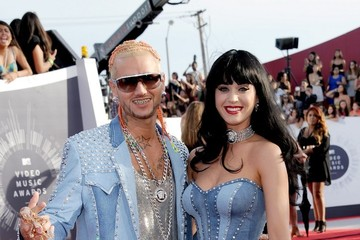 Katy Perry Riff Raff Arrivals at the MTV Video Music Awards