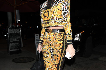 Katy Perry Katy Perry Rocks An Animal Print Outfit