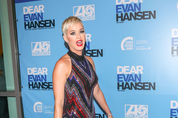 Katy Perry Stars Attend The Opening Night Performance Of 'Dear Evan Hansen'