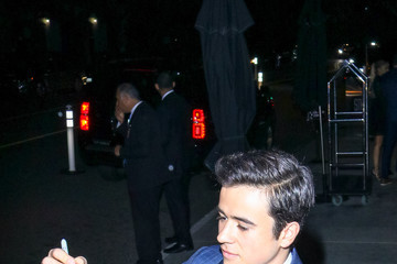 Keean Johnson Keean Johnson Outside The W Hotel In Westwood